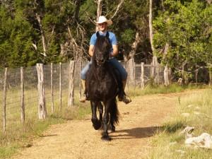 Zuum & Kerim - Sunshine and trails!  6 Years Old
