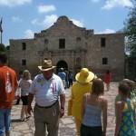 The Alamo on parade day!